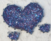 RESERVED for eobaba- Mixed Glass Glitter and Resin Pieces