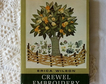 BIG SALE - Crewel Embroidery Book by Erica Wilson