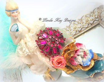 Marie Antoinette Art Doll Glass Shoe Sugary Sweet Marie Style Art Figurine Lorelie Kay Original