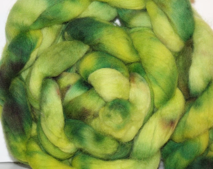 Kette Dyed Cheviot wool top. Roving. Spin. Felt.  1lb. FREE SHIP #CET2