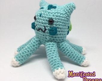 Squirtle Amigurumi Octopus : Octopus Plush Fox Amigurumi Crochet Foxy by ManifestedDreams