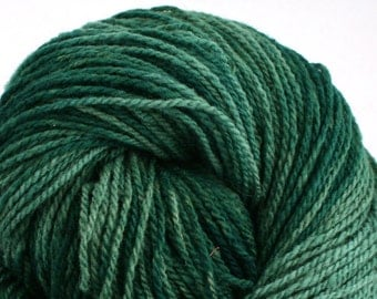 Mohonk Hand Dyed sport weight NYS Wool 370 yds 4oz Evergreen