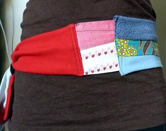 belt Patchwork cotton and jersey mix Stars
