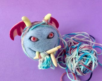 Mephistopheles the Yarn Monster