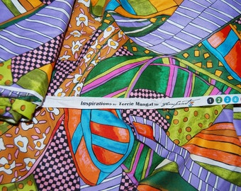 DESIGNER apparel FABRIC Inspirations Free Spirit by Terrie Mangat cotton