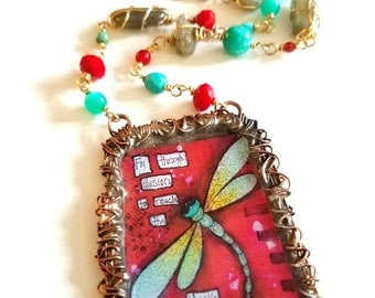 Magic of Lifel~Whimsical Moments Necklace