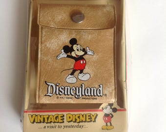 Vintage Disney Mickey Mouse Wallet