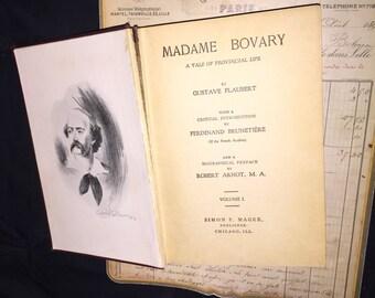 1904 Madame Bovary