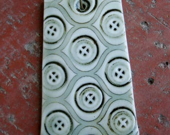 Waverly Patterned Porcelain Pendant