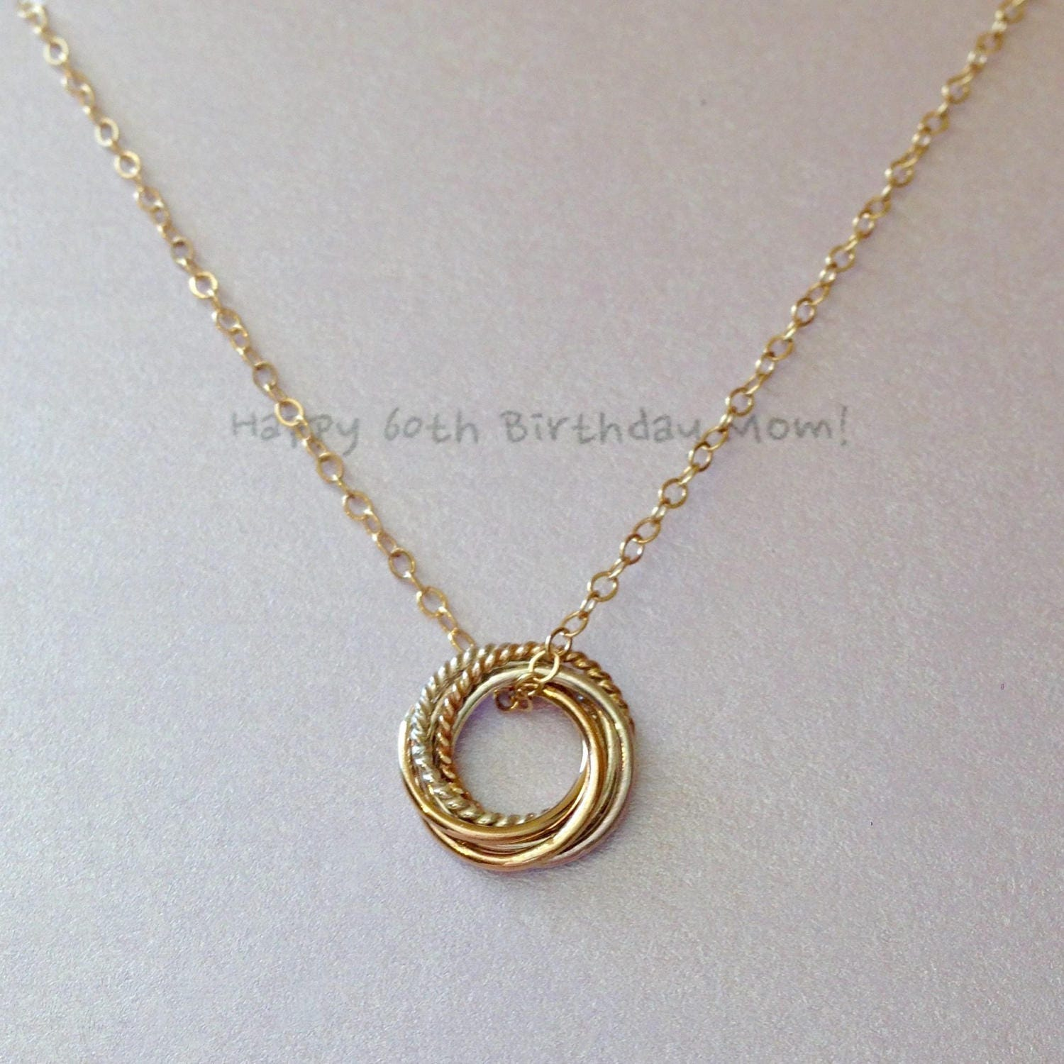 Six Ring Necklace