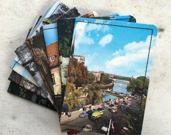 Slim Wallet- Vintage Postcards of France- Choose 1