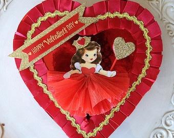 Valentine's Day Decoration Valentine Girl Candy Box Valentine Ornament