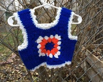 70s Sweater Vest 12/18 Months