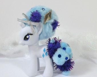 G4 My Little Pony Rarity Pom Pom Rehair