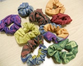 Limited edition - Two-tone hair scrunchies
