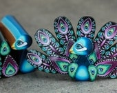 Polymer Clay Peacock Cane Kit-'Midnight in Paradise' (47aa)