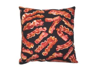 Bacon Throw Pillow Decorative Pillow Home Decor Bedding
