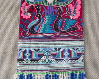 Textiles -  Hmong Baby Carrier/ Hmong / Miao fabric - 7004