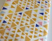 SALE Fabric, Geometric decor, Geometric wedding, Yellow fabric, Triangle fabric, Art Gallery Fabrics, Mojave, Choose Your Cut