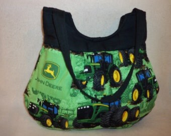 country western John Deere handmade Boutique handbag purse tote many prints to choose from customized has 6 inside pockets fun size for all