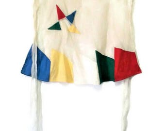 Vintage Masonic Hostess Apron Eastern Star