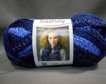 Red Heart Boutique Sashay yarn, RUMBA