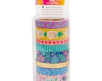 Amy Tan On A Whim Washi Tape Rolls 8/Pkg Amy Tangerine (378747)