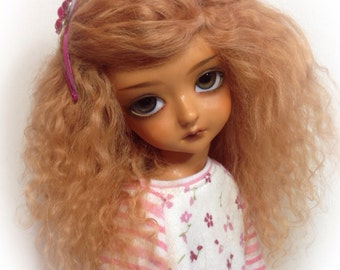 Little fee ,lati green /unoa /unoa chibi size wig 6