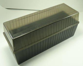 Vintage Plastic 8 Track Storage Case Caddy