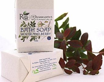Woodland Berry Vegan Soap Palm Free