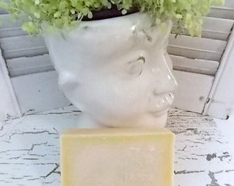 Homemade Large 5-6oz Bar of Natural Handmade Soap in RED CURRANT