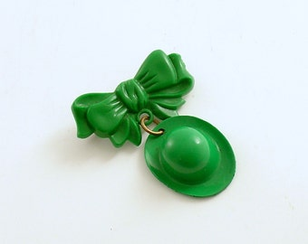 Vintage St. Patrick's Day Pin Brooch