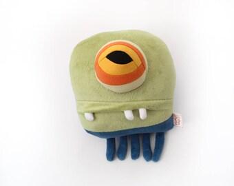 """Sea Creature Plush """"Edwin"""" Jelly Cotton Monster"""
