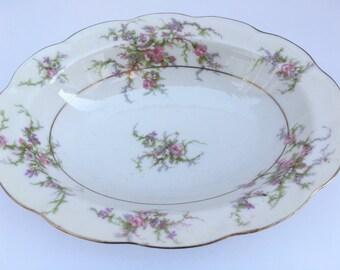 Rosalinde Vegetable Bowl by Theodore Haviland