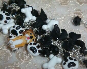 Puppy Dog Charm Bracelet