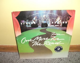 Lynyrd Skynyrd One More for the Road Vinyl Record album NEAR MINT - Double album 1976 with POSTER