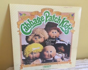 Cabbage Patch Kids Record vinyl Album GREAT CONDITION