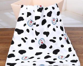 4636 - Doraemon Rayon Fabric - 57 Inch (Width) x 1 Yard (Length)