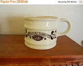 Fall Sale Vintage Franklin Toiltetry Barbershop Old Fashioned Luxury Shaving Cup