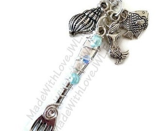 The Little Mermaid Inspired Dinglehopper Necklace with Charms