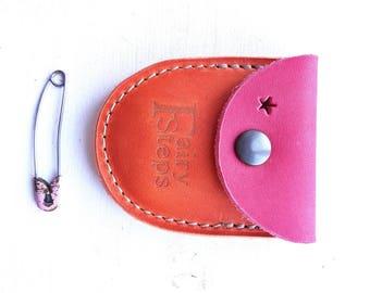 DUST tiny coin purse #3265 mischief marmalade