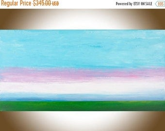 Abstract painting original art wall art Wall decor wall hanging purple blue white green extra large canvas art living room wall art