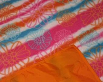 Picnic Blankets - Waterproof Picnic Blanket - Tropical tie-dye