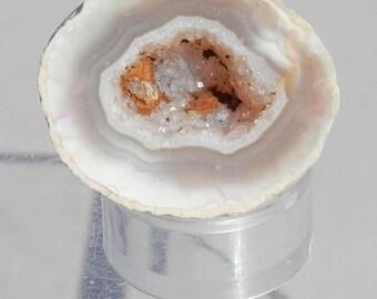 OG-7  Oco Geode Small Drusy Crystal Filled Agate Geode
