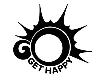 Go Get Happy Decal [002]