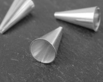 Sterling Silver Bead Cone 12mm (CG9298)
