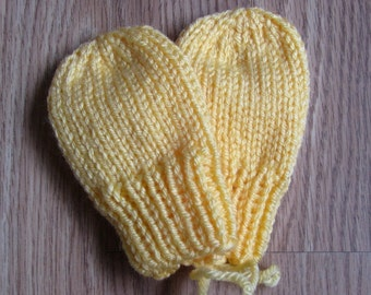 Infant Thumbless Mittens