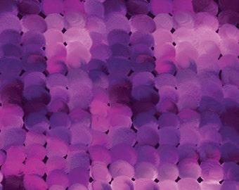 Dots Purple Masterpiece Mixers Benartex Fabric 1 yard