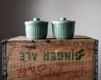 Vintage USA Pottery, Vintage Ceramic Jars, Serving Dishes, Lidded Pottery, Ceramic Pots, Covered Dishes, Lidded Jars, Ceramic Bowls