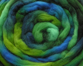 200g Space-Dyed 20 Micron Falkland Top -Marine